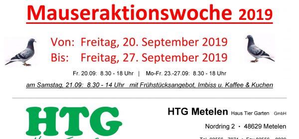Große Mauseraktionswoche vom 20.-27.09.2019